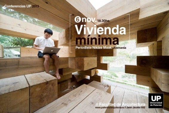 """Conferencia: """"Vivienda mínima"""", por Niklas Maak en la UP"""