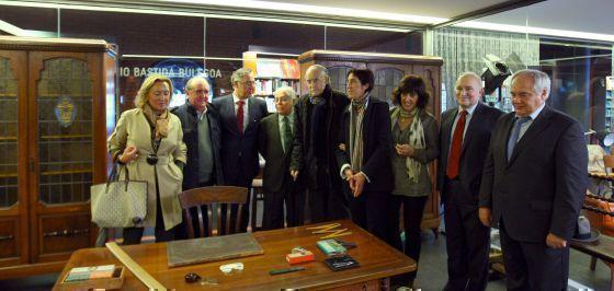 La Alhóndiga recrea el despacho del arquitecto Ricardo Bastida