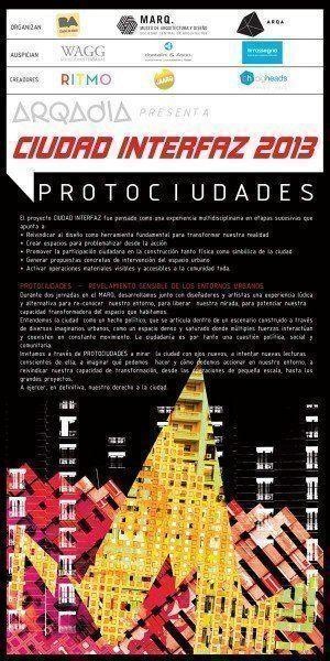 """ARQA - ARQADIA presenta la instalación interactiva """"PROTOCIUDADES"""", en el MARQ"""