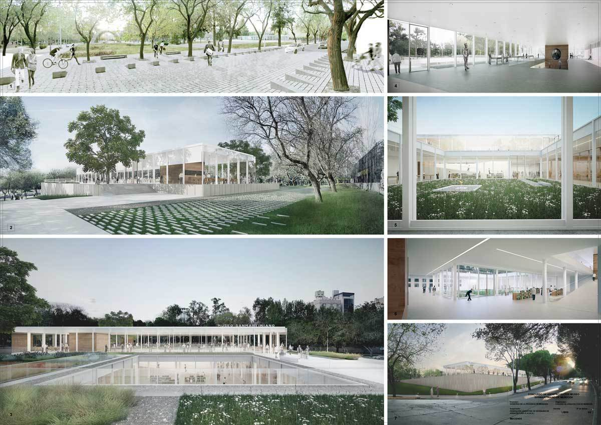 Concurso museo san martiniano 2do premio arqa for En que universidades hay arquitectura