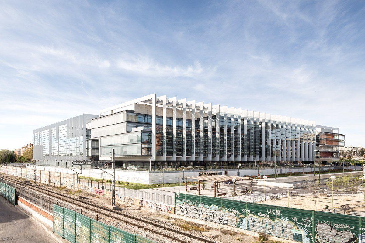 nueva sede corporativa de repsol en madrid arqa