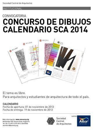 """ARQA - Concurso de Dibujos """"Calendario SCA 2014"""""""
