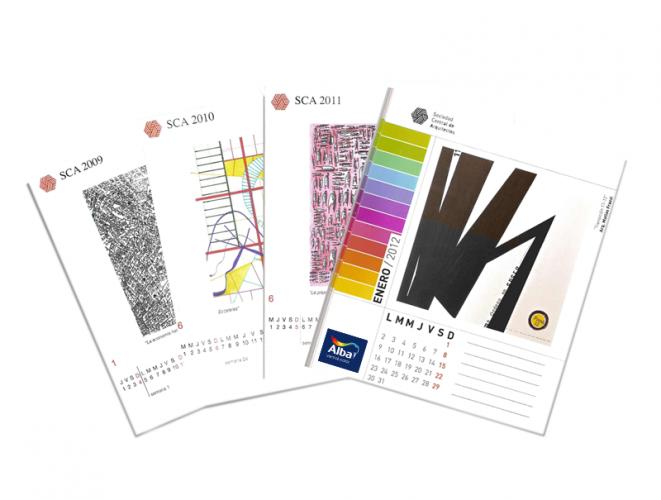 ARQA - Concurso de Dibujos para el Calendario SCA 2014, ganadores
