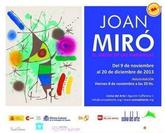 """Exposición: """"El jardín de las maravillas"""", de Joan Miró"""