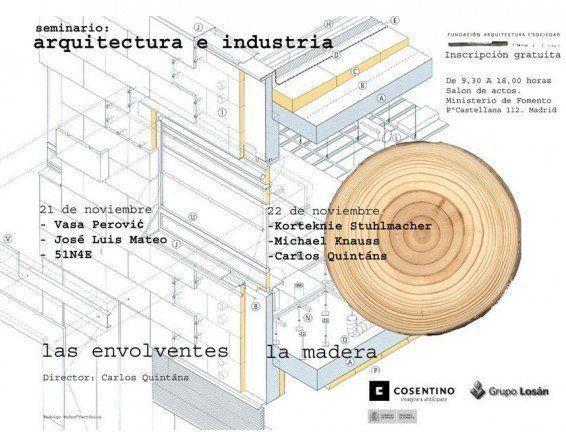 """ARQA - Seminario: """"Las Envolventes y La Madera"""", en Madrid"""