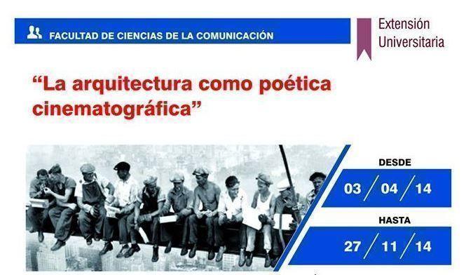 "ARQA - ""La arquitectura como poética cinematográfica"""