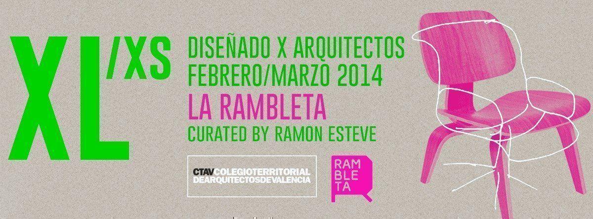 Exposición XL/XS en Espai Rambleta