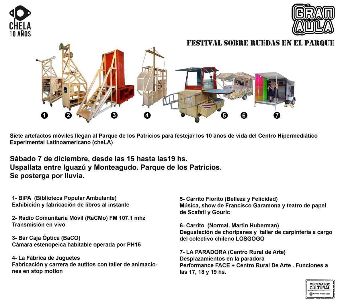 ARQA - El Gran Aula: Festival sobre ruedas en el parque