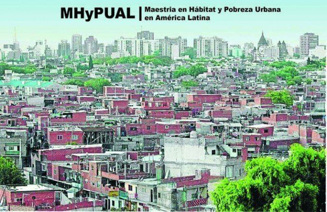 Becas Maestría Hábitat y Pobreza Urbana en América Latina