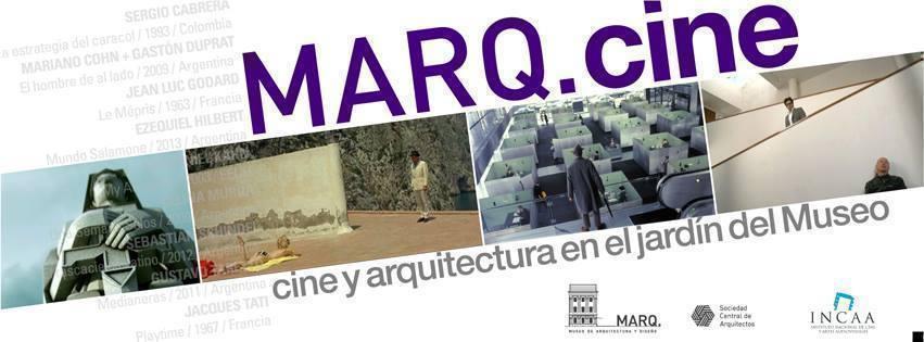Cine y Arquitectura en el jardín del MARQ