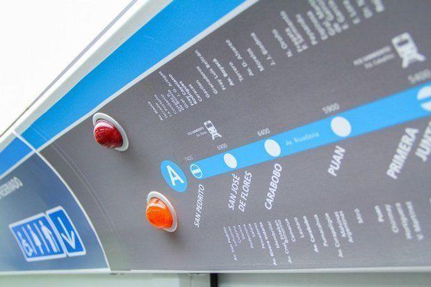 Shakespear Diseño Shakespear realiza la nueva señalización de los vagones del Subte
