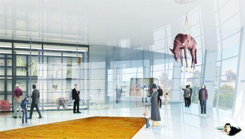 Collection Building Museum Boijmans Van Beuningen, en Rotterdam
