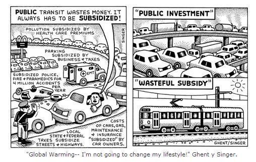 Movilidad urbana sostenible, del dicho al hecho
