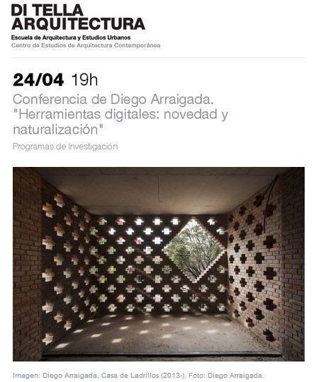 """Conferencia: """"Herramientas digitales: novedad y naturalización"""", por Diego Arraigada en la UTDT"""