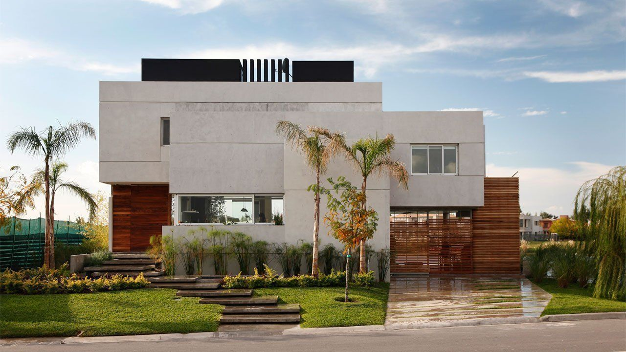 Casa del cabo en nordelta arqa for Unique minimalist house