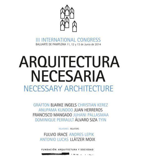 III Congreso Internacional Arquitectura y Sociedad, en Pamplona
