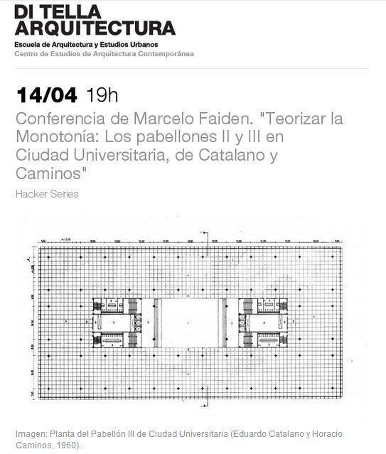 Conferencia de Marcelo Faiden, en la UTDT