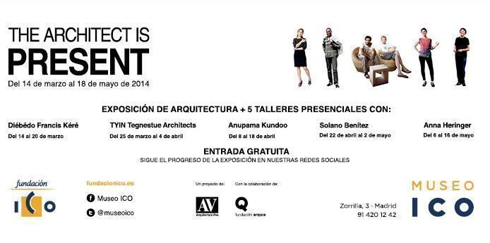 "Exposición: ""The Architect is Present"", en Madrid"