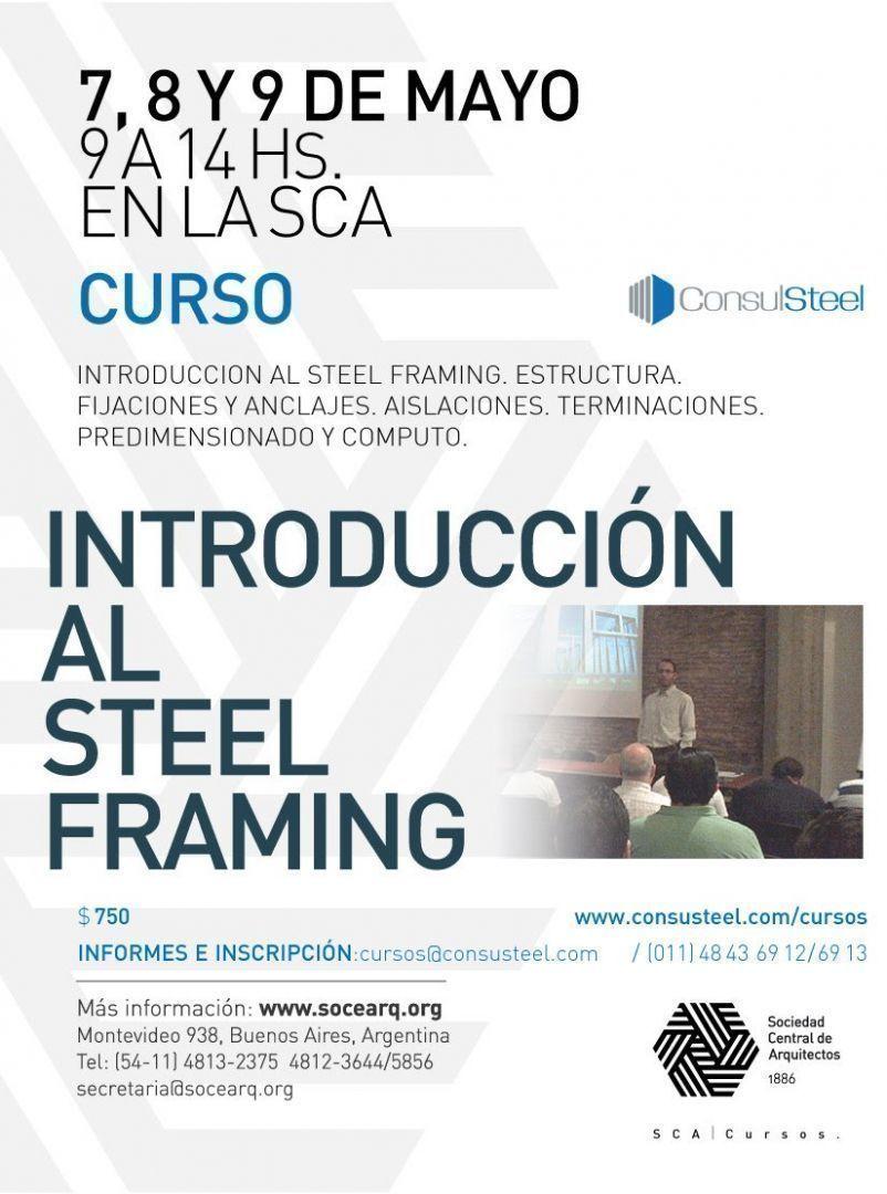 Curso Introducción al Steel Framing