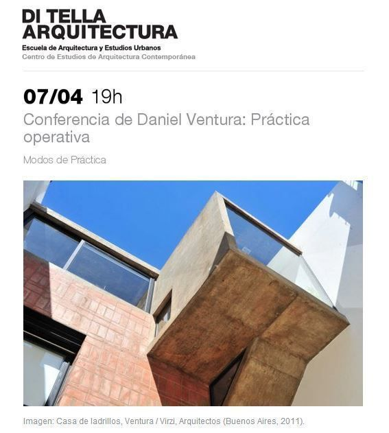 """Conferencia de Daniel Ventura: """"Práctica operativa"""", en la UTDT"""