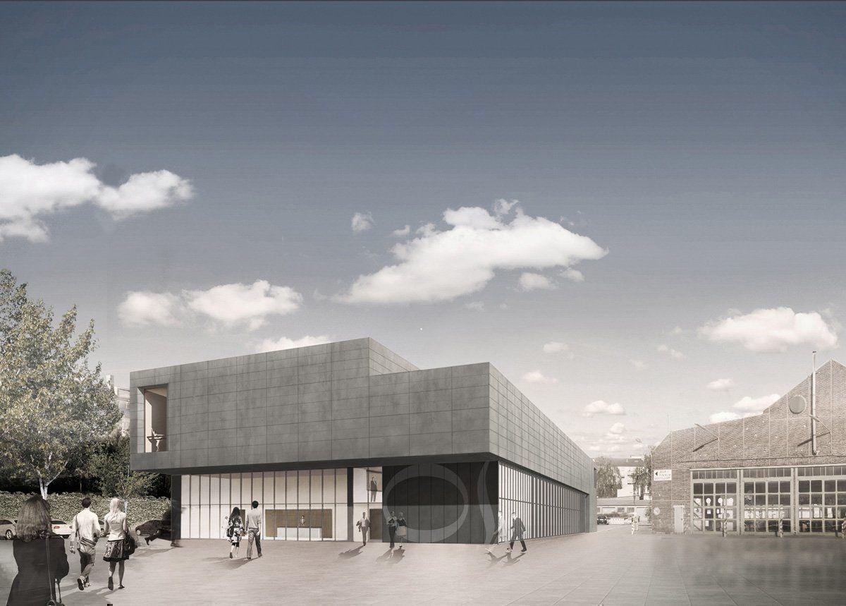 nuevo edificio de ensayos para la compa a de danza. Black Bedroom Furniture Sets. Home Design Ideas