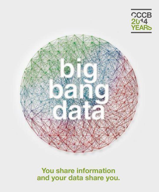 Exposición BingBangData, en Barcelona