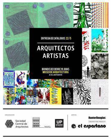 """Muestra: """"Arquitectos Artistas"""", en la UP"""