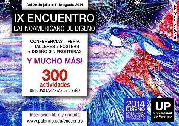 Encuentro Latinoamericano de Diseño: 300 actividades sin costo
