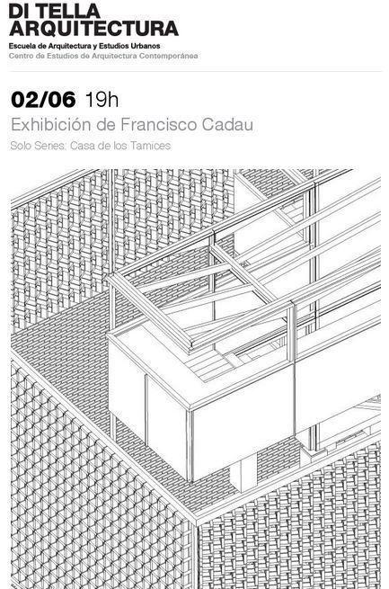 """Exhibición """"Solo series: Casa de los tamices"""", en la UTDT"""