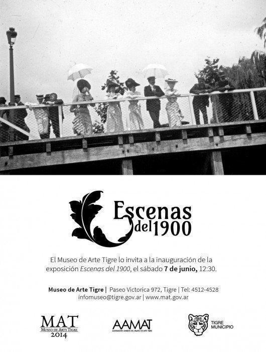 """Exposición: """"Escenas del 1900"""", en el Museo de Arte Tigre"""