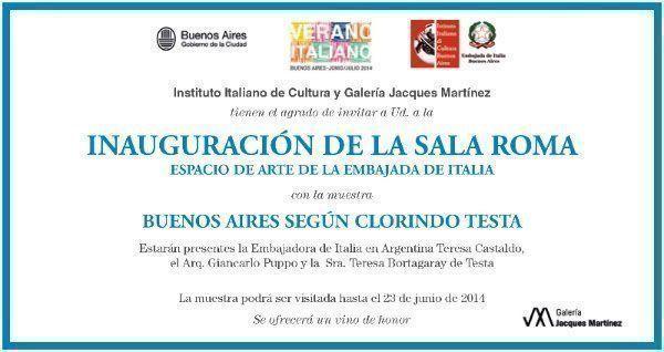 """Exposición: """"Buenos Aires según Clorindo Testa"""""""