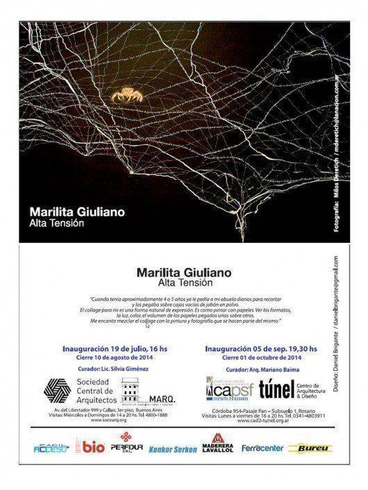 Muestra Marilita Giuliano, en el MARQ
