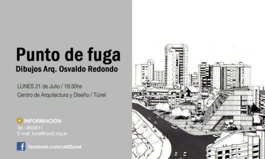 "Muestra Osvaldo Redondo: ""Punto de Fuga"", en Rosario"