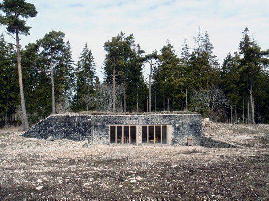 Casa de veraneo, en Suecia