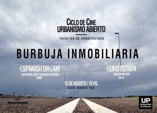 Ciclo de cine Urbanismo Abierto 2014, en la UP