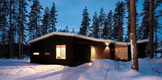 Casa Kettukallio, en Finlandia