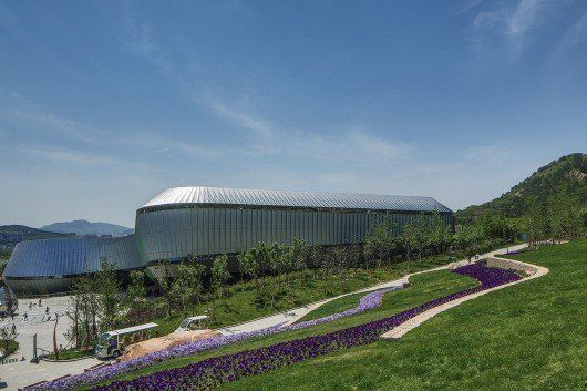 Pabellón Temático en World Horticultural Expo, en Qingdao, China