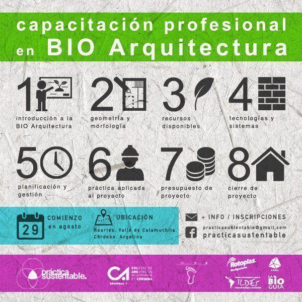 Capacitación profesional en Bio Arquitectura
