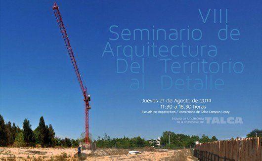 """Seminario: """"Del territorio al Detalle"""""""