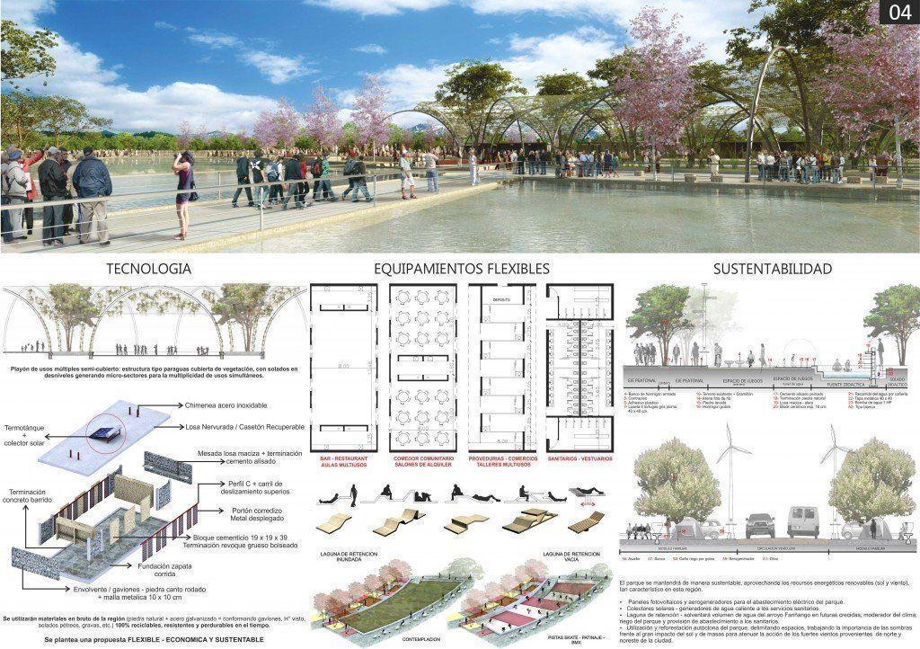 Parque urbano y cultural para la peregrinaci n arqa for Memoria descriptiva arquitectura