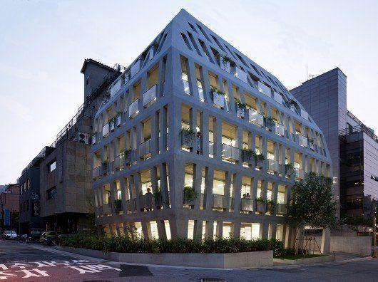 Gilmosery, edificio de oficinas en Korea