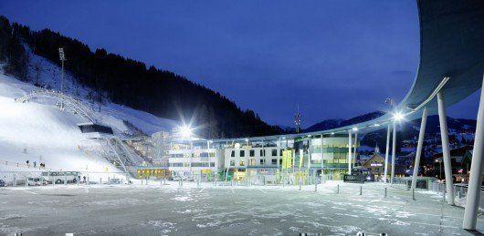 Terminal de Ski, en Austria