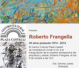 Muestra retrospectiva Roberto Frangella