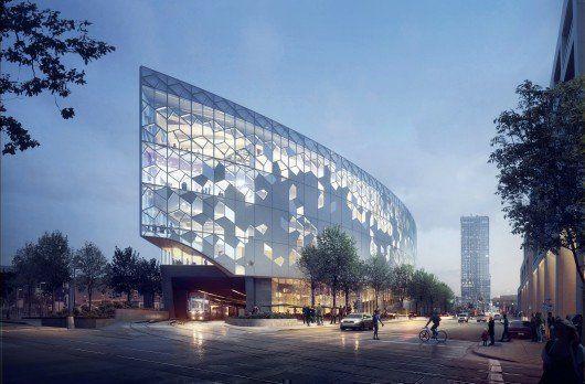 Nueva Biblioteca Central de Calgary, en Canadá