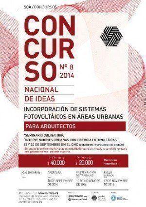 Concurso Nacional de Ideas para la incorporación de sistemas fotovoltaicos en áreas urbanas