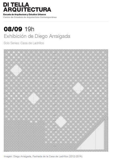 Solo Series: Exhibición de Diego Arraigada, en la UTDT