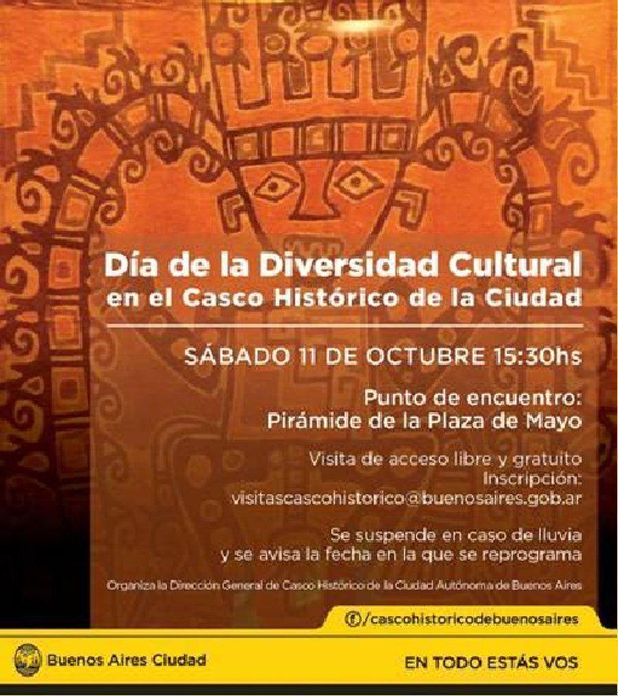 Recorrido y visita en el Día de la Diversidad Cultural