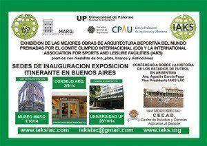 IAKS: Exposición de las mejores obras de arquitectura deportiva del mundo