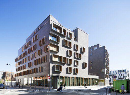 Boucicaut – Lot C, Edificio de viviendas en París