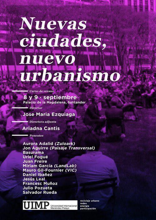 """Curso: """"Nuevas ciudades, nuevo urbanismo"""""""